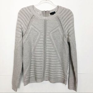 EUC The Limited zippered back knit sweater